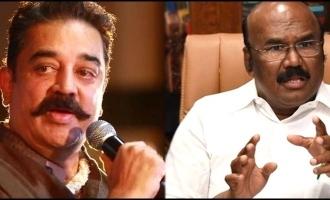 Minsiter Jayakumar says about actor kamal hassan
