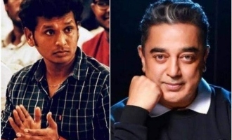 Love you guys - Kamal Haasan to Lokesh Kanagaraj