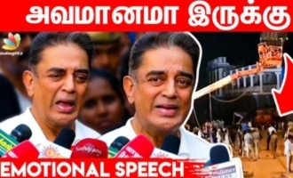 Kamal Emotional Speech - Indian 2 Shooting Spot