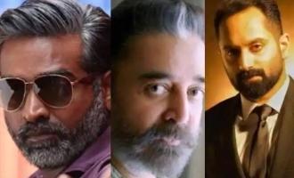 Kamal, Vijay Sethupathi and Fahaad Faasil characters in 'Vikram' revealed?
