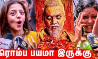 OMG!! Highly Scary ! | Kanchana 3 Public Reaction & Review