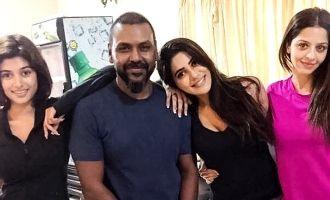 ராகவா-ஓவியாவின் 'காஞ்சனா 3' ரிலீஸ் தேதி அறி&#2