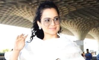 அரசியல் பரபரப்புக்கு இடையே தமிழ்ப்பட படப்பிடிப்பில் கங்கனா ரனாவத்!
