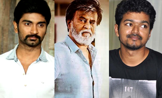 Atharvaa before Vijay and Rajinikanth