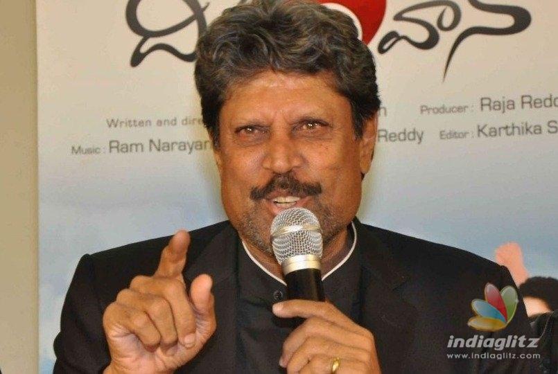R.J. Balajis LKG gets the best wishes of Indian cricketing legend