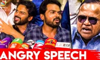 We will win if Radha Ravi speaks against us - Karthi