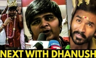 My next with DHANUSH : Karthik Subbaraj at Petta Success Celebration