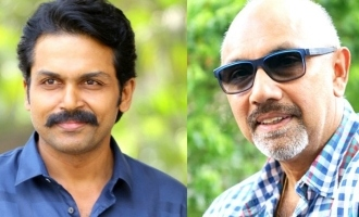 Sathyaraj teams with Karthi again!