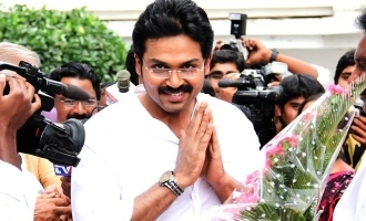 Karthi opens on election campaign!