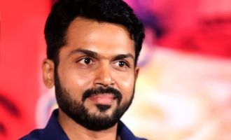 Karthi signs a new movie with Kamal's blockbuster hit director