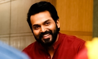 Interesting detail on Karthi's Kaithi!