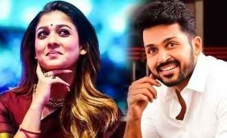 Karthi congrats nayanthara in Koolangal movie for getting international award