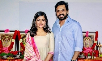 Rashmika Mandanna confirms Karthi movie title!