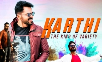 Karthi - the King of variety!