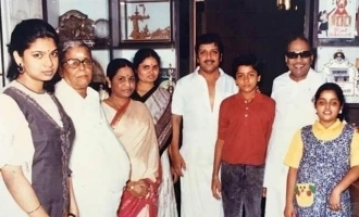 Rare photos of young Suriya and Karthi with Kalaignar Karunanidhi turn viral!