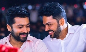 Birthday Special - Karthi's first selfie with his brother Suriya!