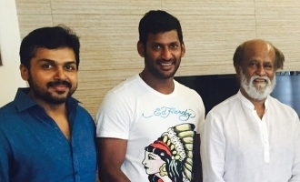 Vishal ready for clash with Rajnikanth!