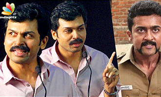 Everyone compares me with Surya : Karthi Speech