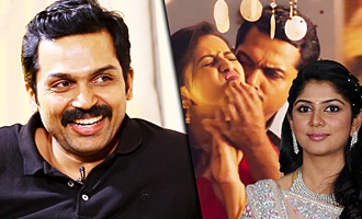 How did Karthi's wife Ranjani react to his LOVE scenes : Karthik Sivakumar Interview