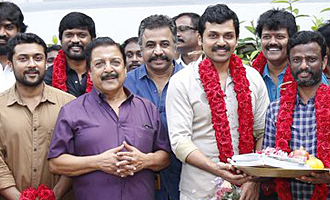 Karthi - Suriya's next film with Director Pandiraj on floor