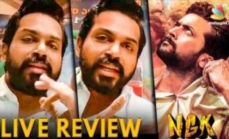 NGK Teaser Verithanam : Karthi Reviews Suriya's Next