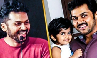 I Will Surely Show this to my DAUGHTER : Karthi Speech