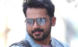 Karthi's next gets Superstar Rajnikanth's title?