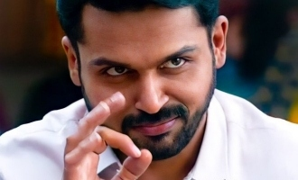 Karthi's new movie mass first look motion poster and title unveiled