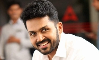 Karthi shares his never before seen photo as a college student in government bus