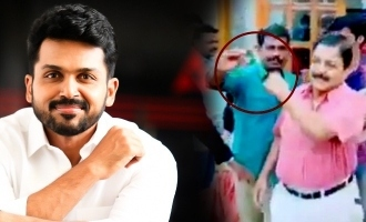 Karthi opens up about Sivakumar's Selfie controversy