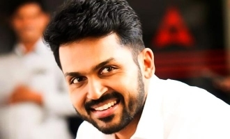 Karthi extends support to farmers protest in Delhi!