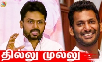 Karthi Speech about Nadigar Sangam Elections 2019 at Namakkal