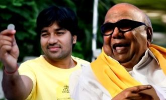 WOW! Kalaigniar Karunanidhi's reaction to 'Thamizh Padam'