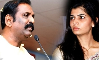 Chinmayi openly says she will slap Vairamuthu now