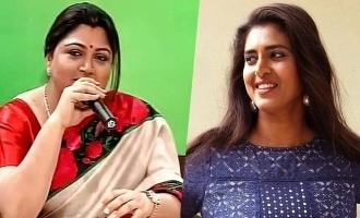 குஷ்புவை கலாய்த்த கஸ்தூரி: வைரலாகும் மீம்ஸ்கள்