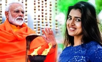பிரதமர் மோடியின் 2வது பிரஸ்மீட்: கலாய்த்த கஸ்தூரி