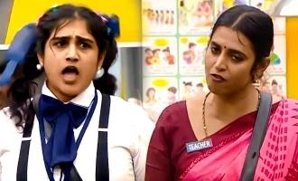 Biggboss Tamil season 3 Student Vanitha Clashed with teacher Kasturi