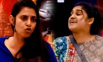 வனிதா-கஸ்தூரி மோதல்: நாய், பூனை, குரங்காக மாறிய ஹவுஸ்மேட்ஸ்