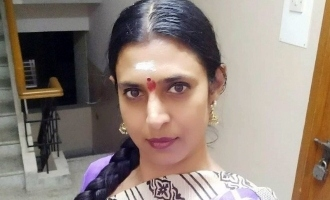 Actress Kasturi facebook status to condemn TN Govt