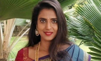 Kasthuri reveals reason why she is not showing her husband in public