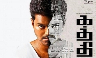 Lyca Productions important message on five years of Thalapathy Vijay's 'Kaththi'