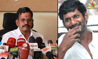Vishal takes revenge for Nadigar Sangam issue : Kalaipuli S Thanu Speech