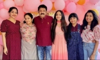 Ajith-Vijay costar's four daughters have millions of followers - Surprising details