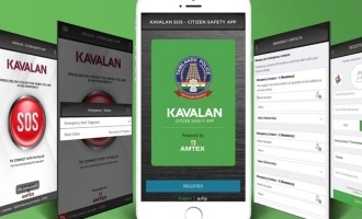 two persons arrested by police through kaavalan app