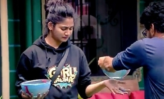 Bigg Boss 3 Vanitha and Tharshan's intentionally do it for Losliya?