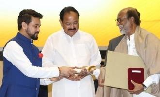 Rajinikanth says Dada Saheb Phalke Award Director  I submit to K Balachander