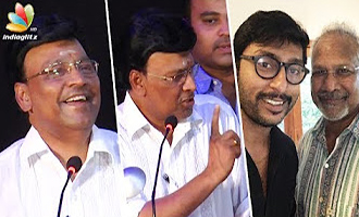 K Bhagyaraj Funny Speech on RJ Balaji's role in Kaatru Veliyidai