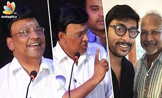 K Bhagyaraj Funny Speech on RJ Balaji's role in Kaatru Veliyidai