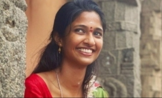 Asuran in actress Keerthi Pandian's house,  pic goes viral
