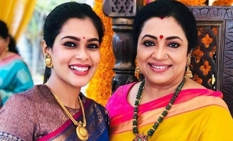 Kiki Vijay wonderful wishes to Poornima